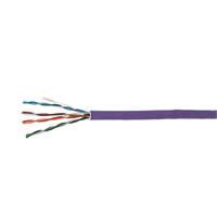 Time Cat 5e UTP LSZH Ethernet Cable 305m Purple