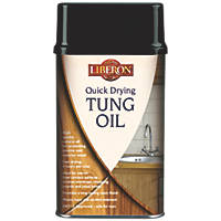 Liberon Quick-Drying Tung Oil Clear 1Ltr