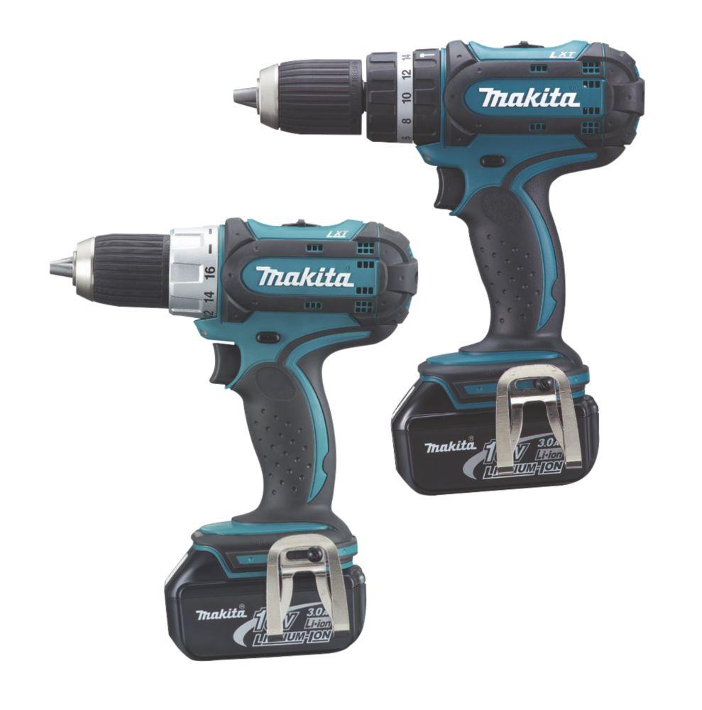 Makita LXT232 18V 3Ah Li-Ion Twin Pack Combi Drill & Drill Driver LXT
