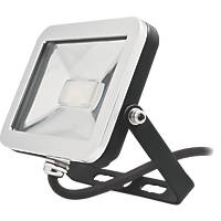 Brackenheath ispot Driverless LED Floodlight 10W Black
