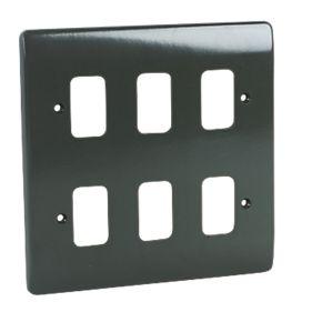 6 Module Grid Plus Frontplate