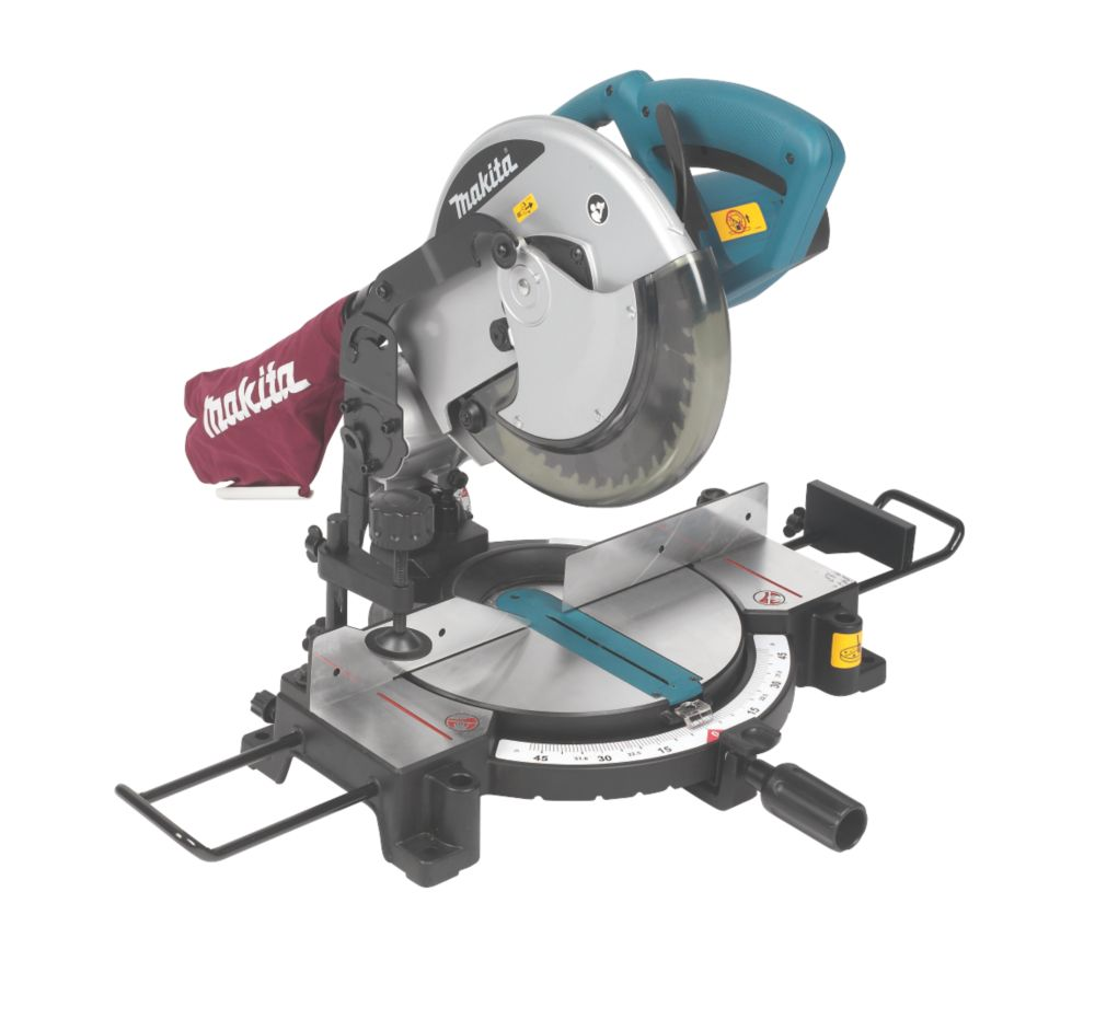 Makita MLS100/1 250mm Compound Mitre Saw 110V