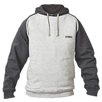 "DeWalt Cyclone Hoodie Grey Marl / Charcoal Medium 39"" Chest"
