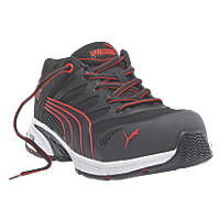 Puma Fuse Motion Safety Trainers Red Size 7