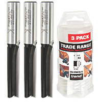 "Trend Router Cutter Trade Pack ½"" Shank 3 Piece Set"