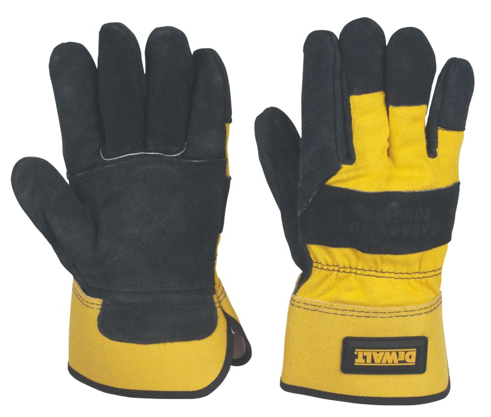 DeWalt Mechanical Hazard Rigger Gloves Yellow Large