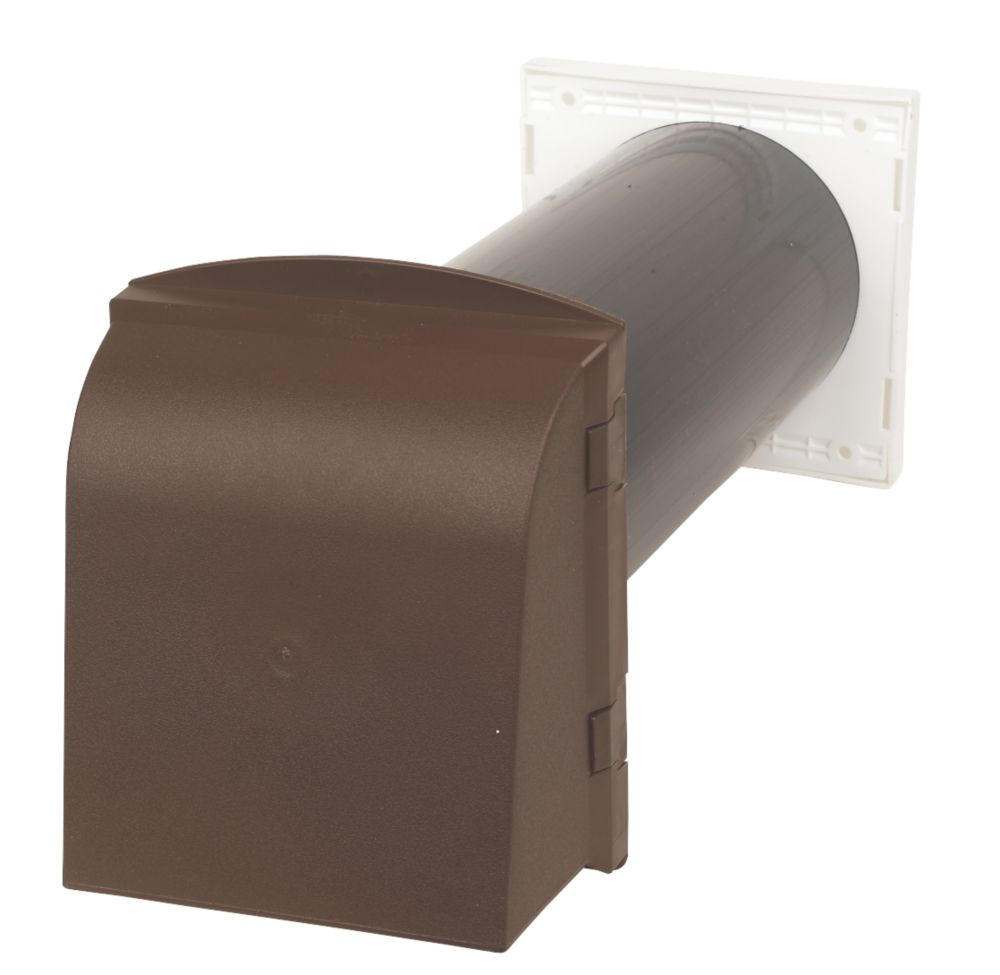 Manthorpe Core Vent Brown 127 x 350mm