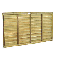 Forest Superlap Fence Panels 1.82 x 0.9m 4 Pack
