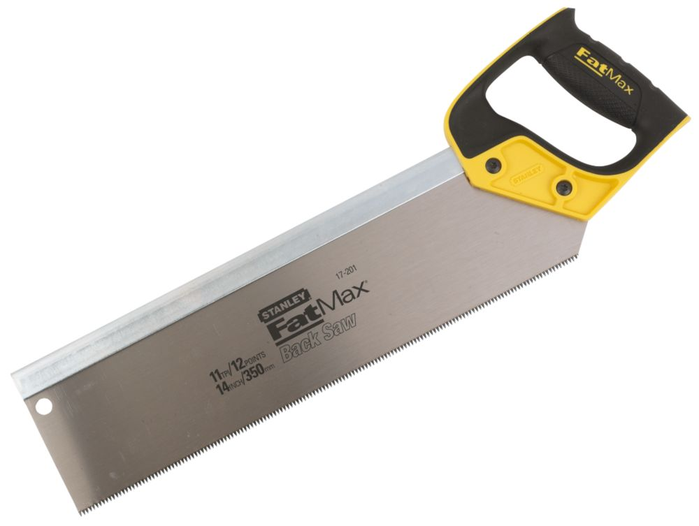 "Stanley FatMax Back Saw Jetcut HP 11Tpi 14"" (350mm)"