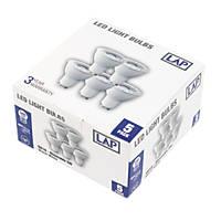 LAP GU10 LED Lamp 346lm  5W 5 Pack