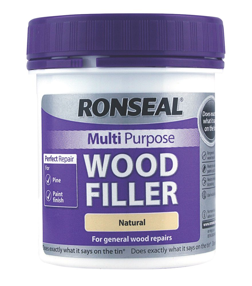 Ronseal Multi Purpose Wood Filler Natural 250g
