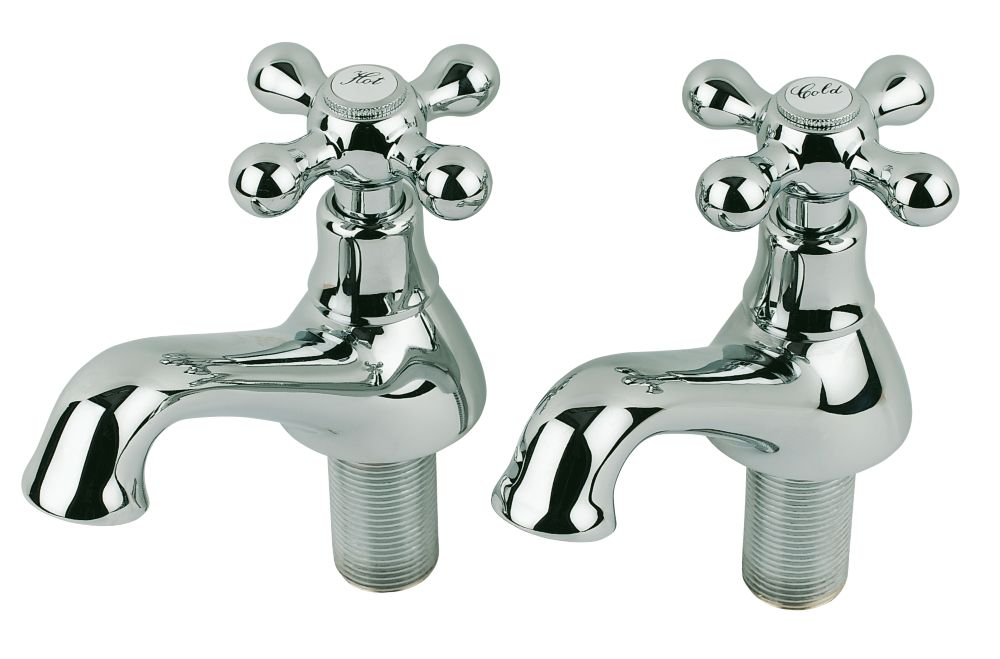 Pegler Souvenir Bath Taps Pair