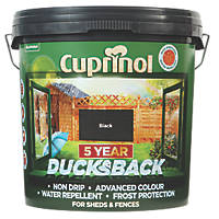 Cuprinol Fence Treatment Black 9Ltr