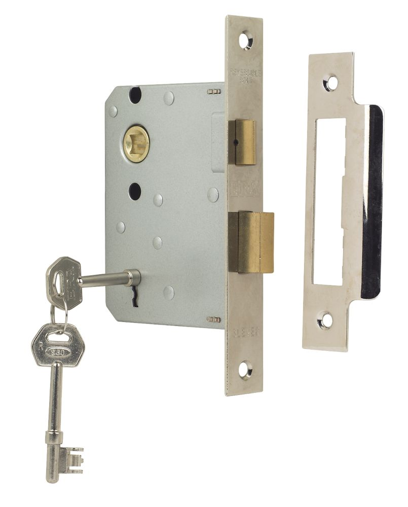 "ERA 3-Lever Mortice Sashlock Chrome 3"" (76mm)"