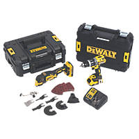 DeWalt DCK208D2T-GB 18V 2.0Ah Li-Ion XR Brushless Cordless Twin Pack