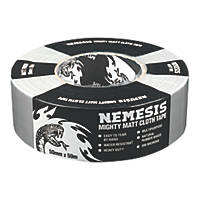 Nemesis Cloth Tape 76 Mesh Silver 50mm x 50m