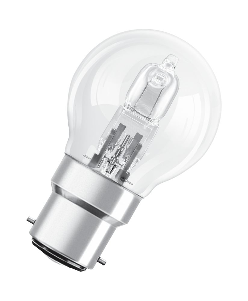 Osram Classic ECO Superstar Ball Halogen Lamp BC 700Lm 46W