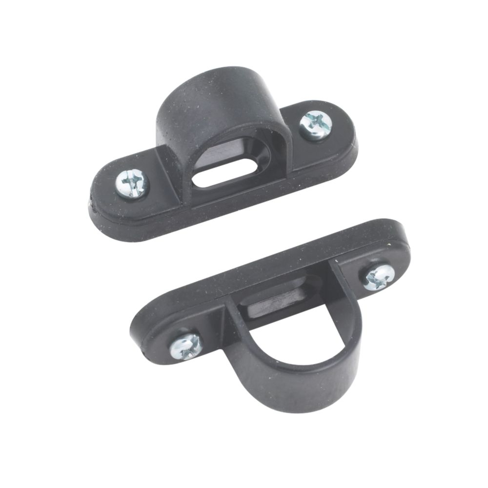Tower Spacer Bar Saddles 20mm Black Pack of 2