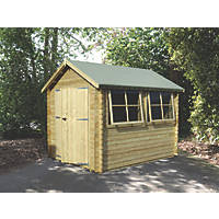 Shire Solway 2 Log Cabin Assembly Included 2.9 x 2.9m
