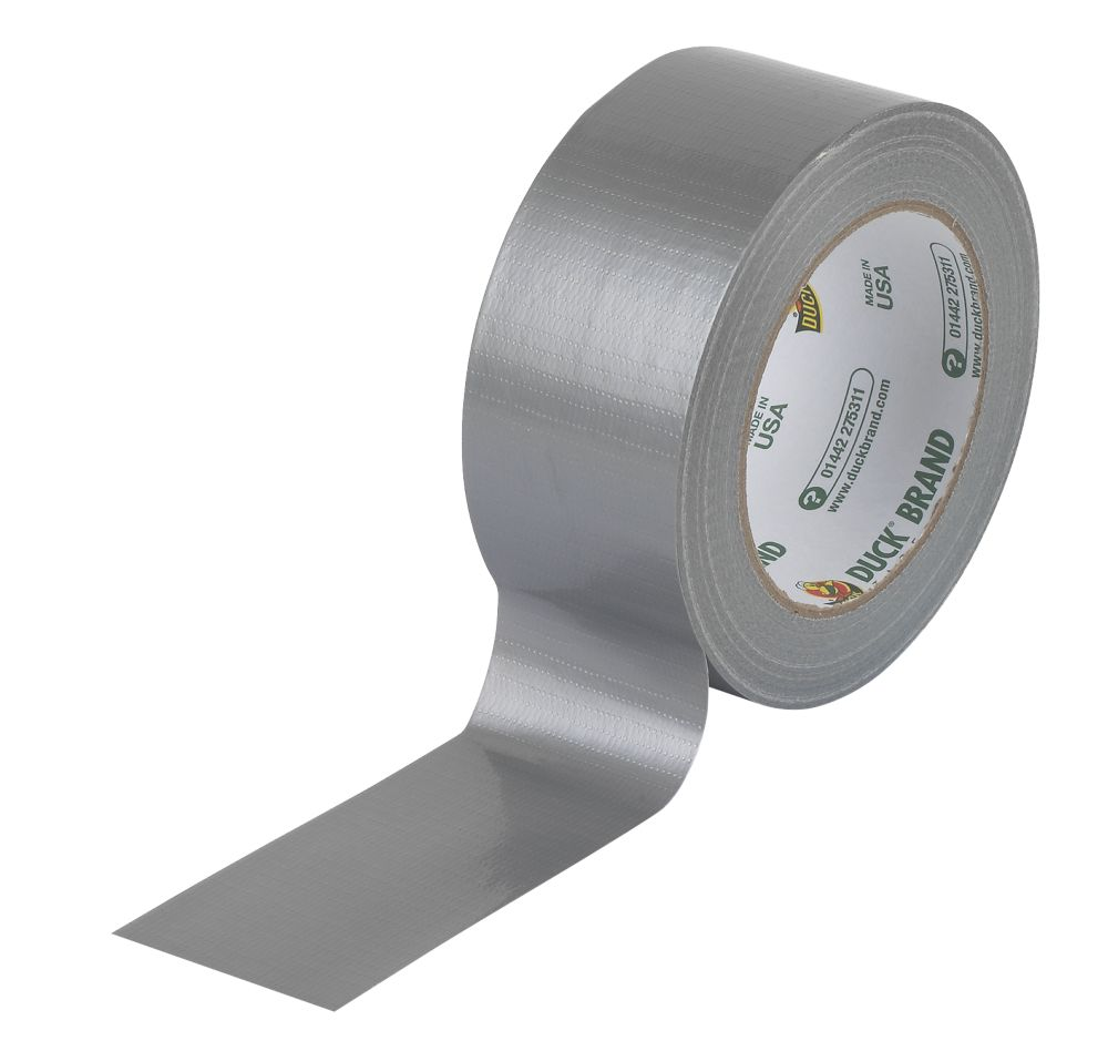 Duck Ultimate Cloth Tape Silver 50mm x 25m