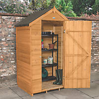 Forest 4' x 3' (Nominal) Apex Overlap Timber Shed