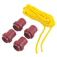 What Knot Replacement Tools & 7m Yellow Rope 70mm x 60mm 5 Piece Set