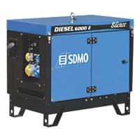 SDMO 6000ES 5200W Portable Generator 110 / 230V