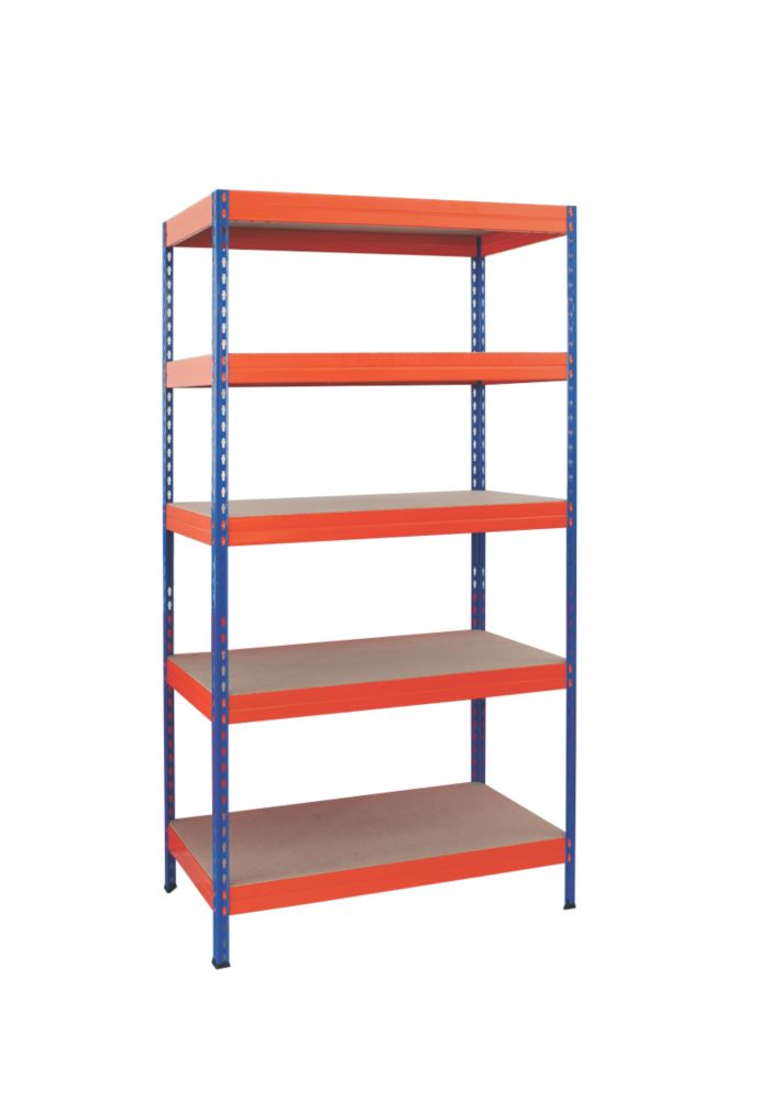 Boltless Freestanding 5-Tier Shelving 1920 x 900 x 450mm
