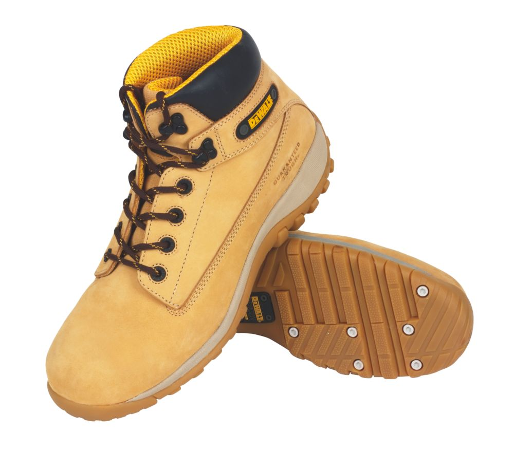 DeWalt Hammer Safety Boots Wheat Size 7