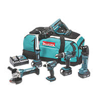 Makita DLX6021M 18V 4.0Ah Li-Ion LXT Cordless 6-Piece Kit