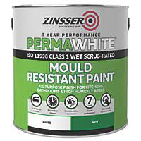 Zinsser Self-Priming Paint White 2.5Ltr