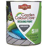 Liberon Decking Paint Dark Silver 2.5Ltr