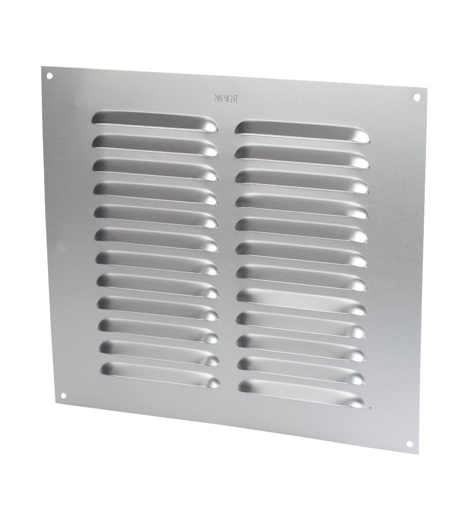 Map Vent Louvre Vent Silver 229mm x 229mm