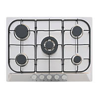 GHFFX70SS Gas Hob Stainless Steel 680 x 500mm