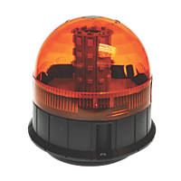 Maypole Amber Surface-Mounted LED Beacon 40 x 3W 200mm