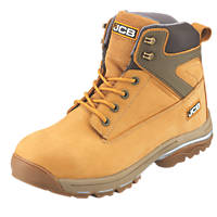 JCB Fast Track Safety Boots Honey Size 7