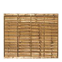 Grange Professional Lap Fence Panels 1.83 x 1.5m 4 Pack