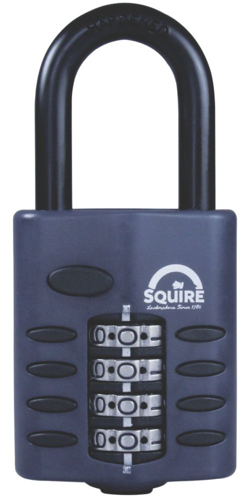 Squire 50mm All-Weather Combination Padlock 63mm Shackle