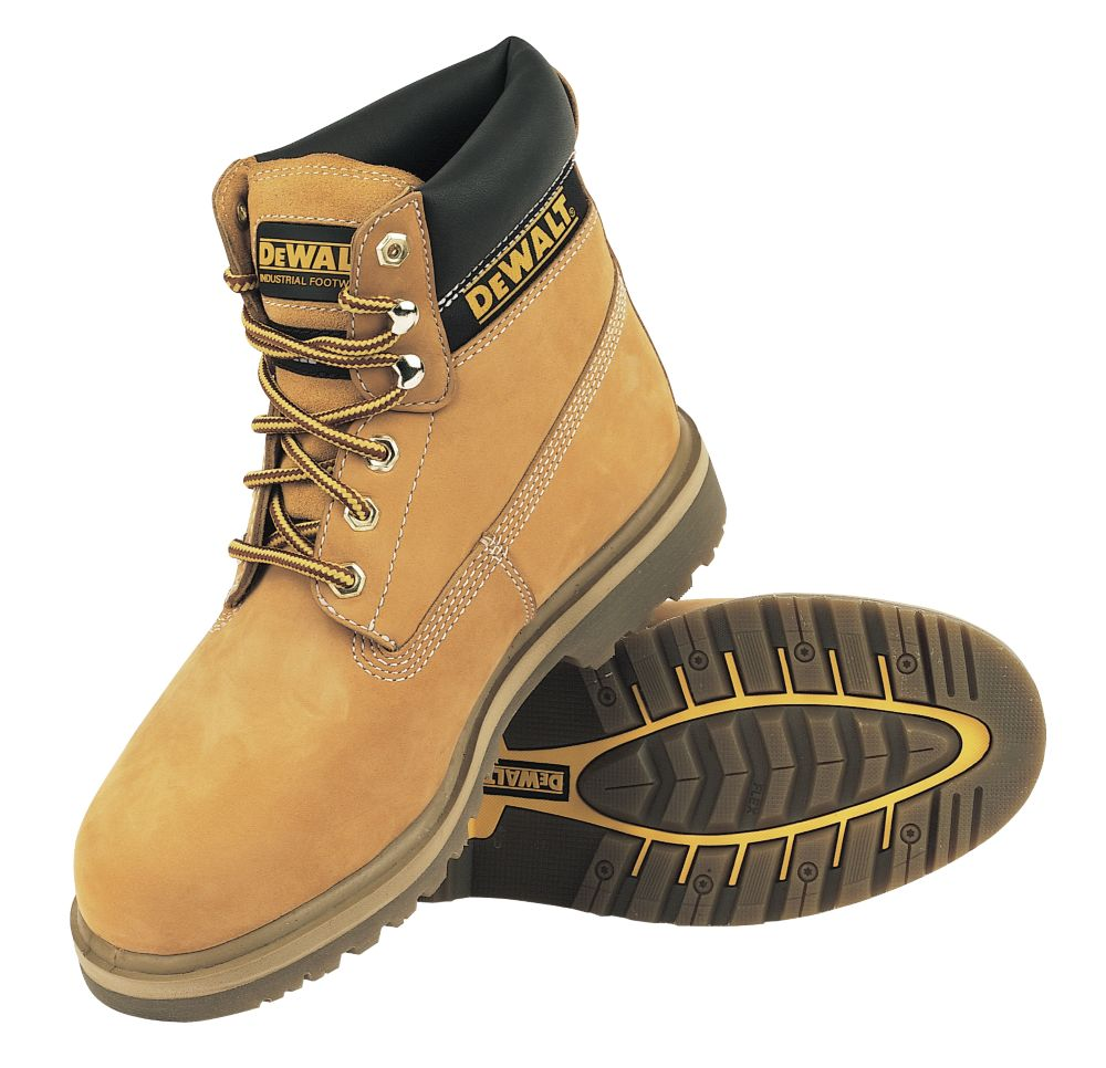DeWalt Explorer Safety Boots Wheat Size 12