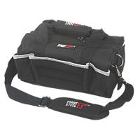 Forge Steel Hard Bottom Tool Bag 16""