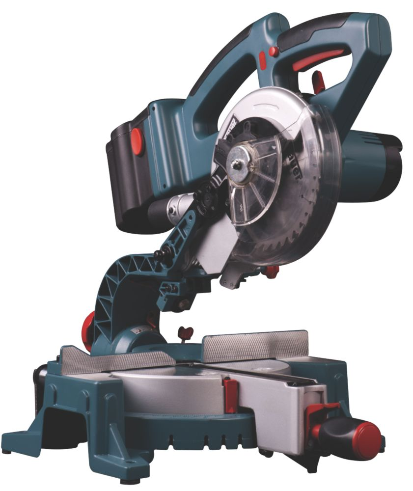 Erbauer ERF298MSW 165mm Sliding Compound Mitre Saw 24V