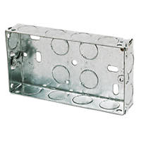 Appleby Galvanised Steel Knockout Boxes 2G 25mm
