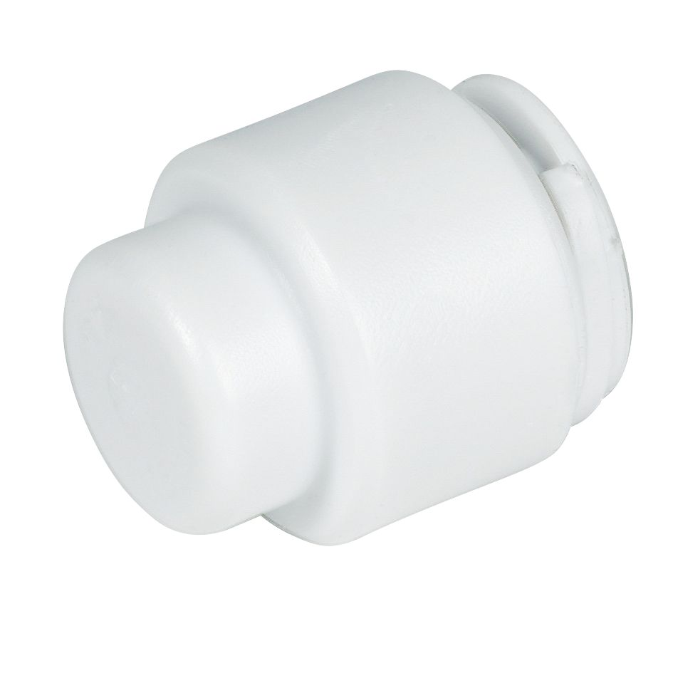 FloPlast Flo-Fit Stop Ends 15mm Pack of 2