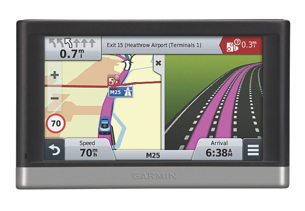 Garmin Nuvi 2407 Sat Nav with UK & Ireland Maps