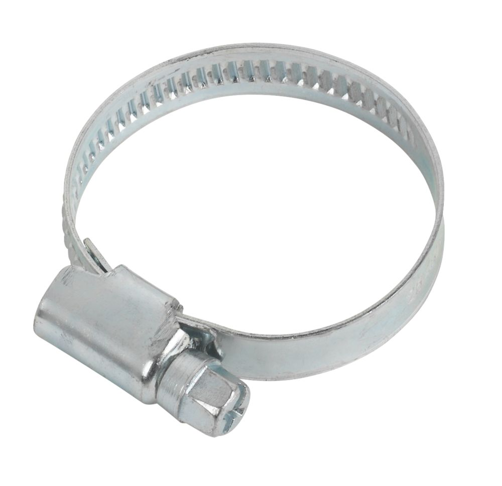 BZP Hose Clip 25-40mm Pack of 10