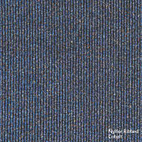Heuga  Ribbed Heavy Contract Carpet Tiles Cobalt 20 Pack