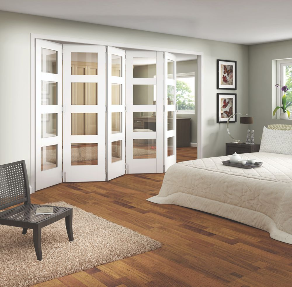 Jeld-Wen 4-Light Internal Room Divider 5-Door White 3164 x 2044mm