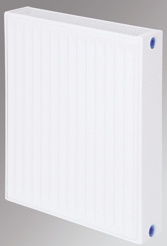Flomasta Type 22 Double Panel Double Convector Radiator White 600 x 500mm