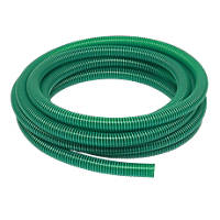 Reinforced Suction / Delivery Hose Green 10m x 1½""