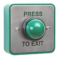 Briton Domed Push-To-Exit Button
